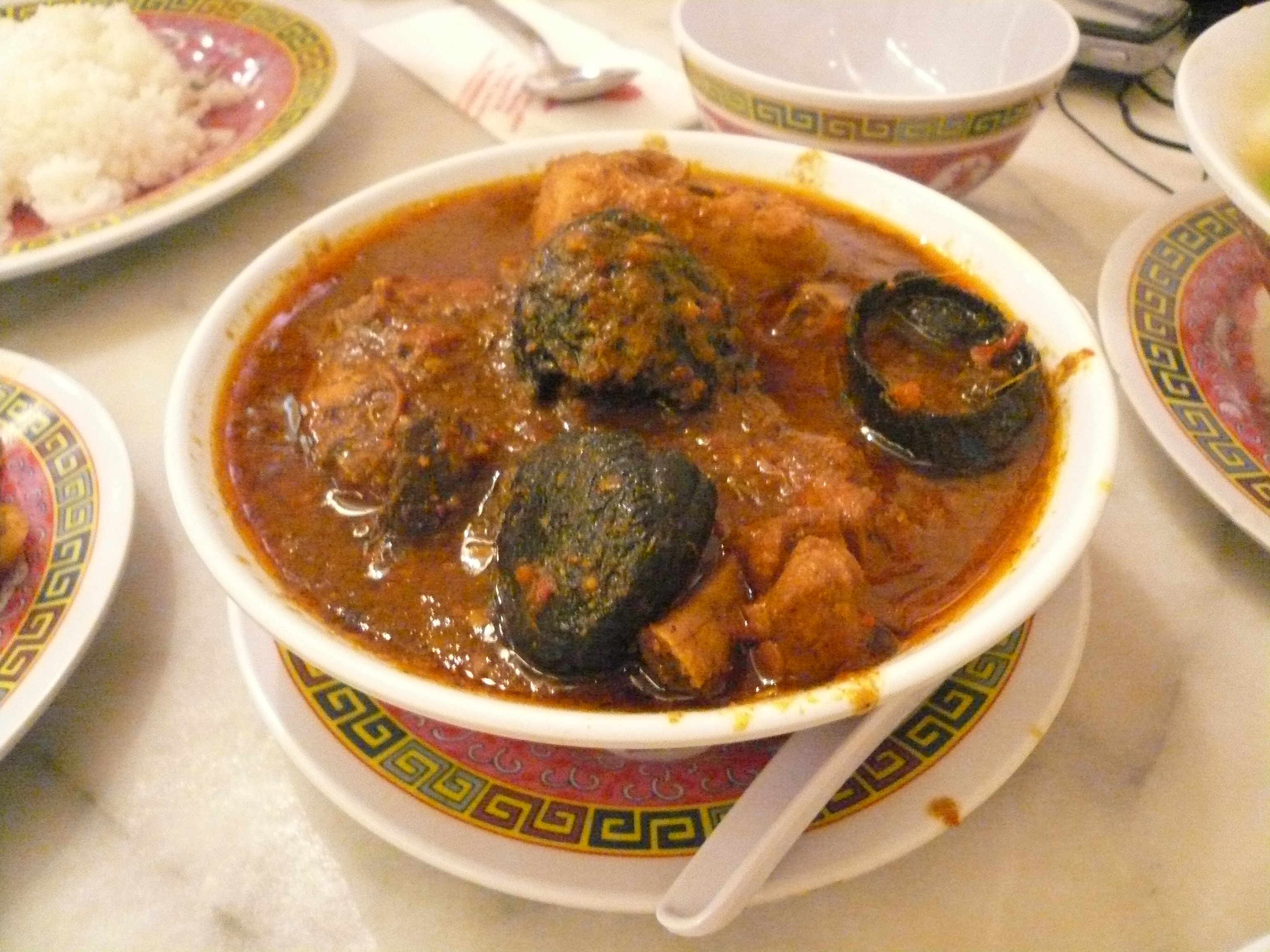 Ayam Buah Keluak (Chicken in Black Nut Curry)