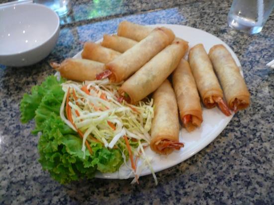 Boring and tasty shrimp rolls