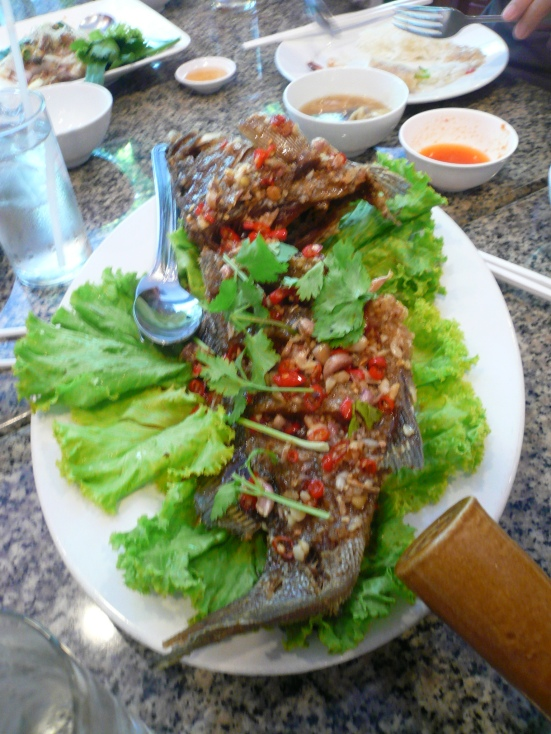 Sweet and Sour Fried Fish!