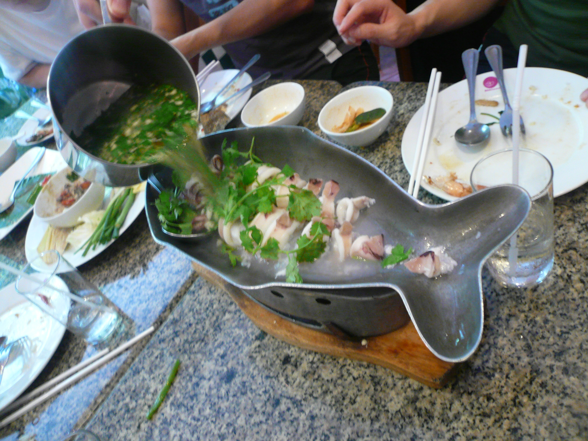 Strange dish....not for the faint hearted....
